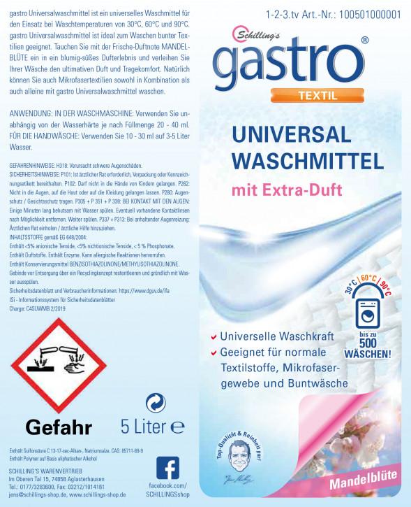 Gastro Universalwaschmittel 5 Liter Mandelblüte
