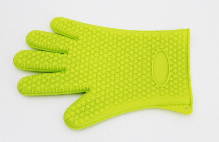 Silikon Wounder Backhandschuh hellgrün