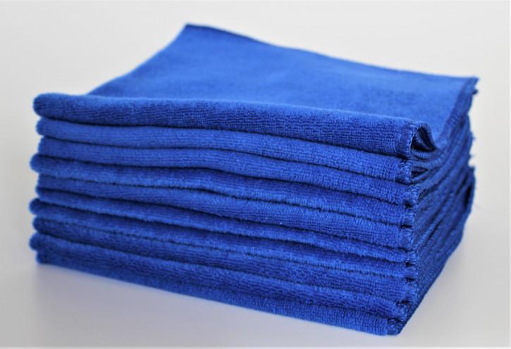Clean Wounder Revolution Mikrofasertücher 10er Set Blau
