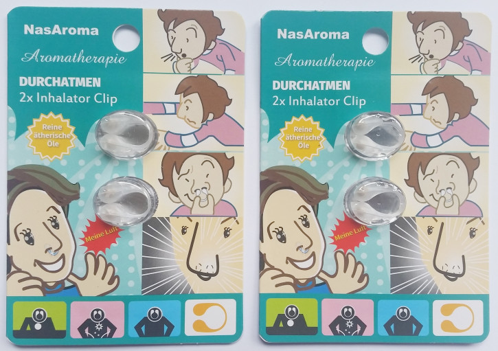 NasAroma Durchatmen 2x 2 Stück