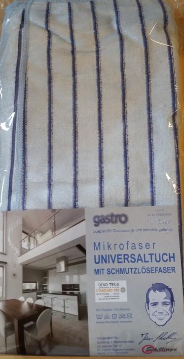 Gastro Universaltücher 10er Set blau