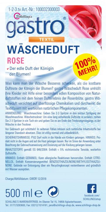 Gastro Wäscheduft Rose 3x500ml