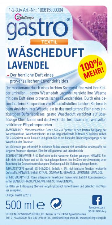Gastro Wäscheduft Lavendel 3x500ml