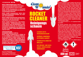 Clean Wounder Rocket Cleaner 400ml
