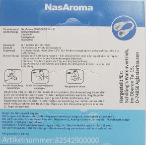NasAroma Frischer Wind 2x 2 Stück